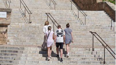 Sol y subida de las temperaturas en Baleares