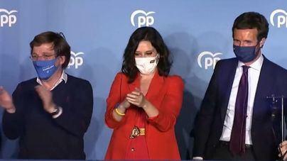 Díaz Ayuso liquida a la izquierda y podrá gobernar cómodamente en Madrid