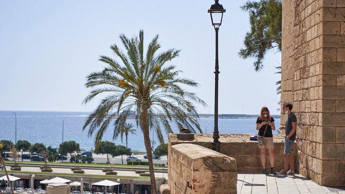 Cielo despejado y temperaturas en ascenso en Baleares