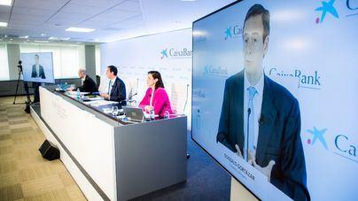 CaixaBank obtiene un beneficio de 514 millones en el primer trimestre
