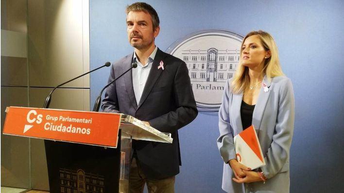Cs expedienta a Pérez-Ribas, Benalal y Méndez tras pedir el relevo de Guasp como portavoz