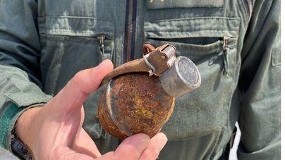Hallan una granada de la Guerra Civil en una vivienda de Llucmajor