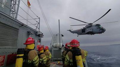 Finaliza en Porto Pi el ejercicio multinacional de búsqueda de minas submarinas MINEX-21