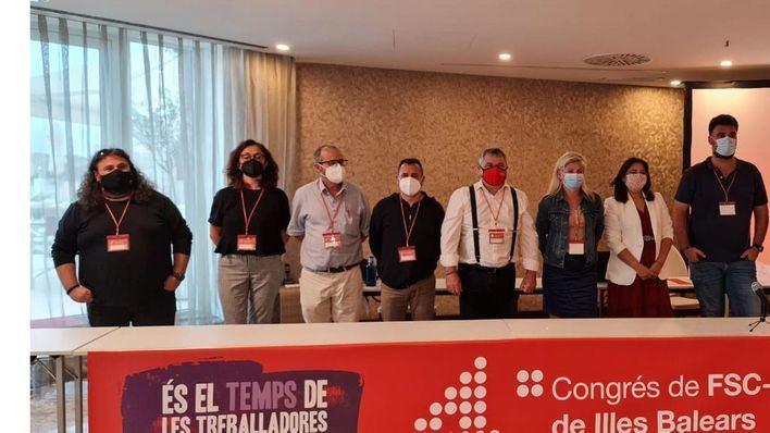 CCOO Baleares elige a Pep Ginard secretario general de la Federación de Servicios a la Ciudadanía