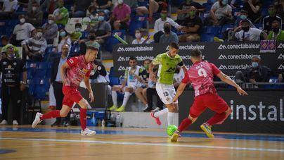 El Palma Futsal estrena liderato con derrota