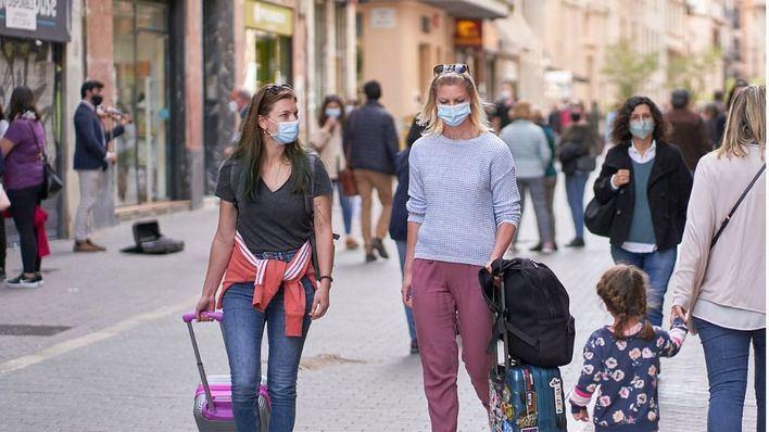 La OCU pide que las mascarillas no sean obligatorias en exteriores finalizado el estado de alarma