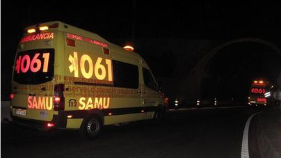 Dos fallecidos y varios heridos en una colisión múltiple en Son Ferriol