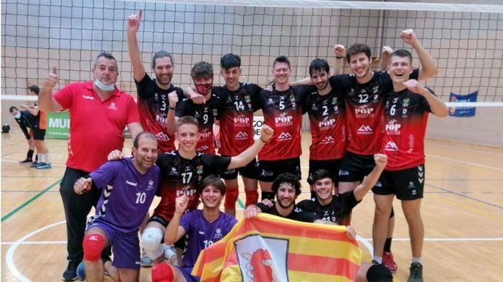 El Cafè Es Pop de Manacor asciende a categoría de I Nacional de voleibol
