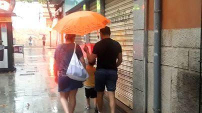 Lluvia y bajada de temperaturas en Baleares