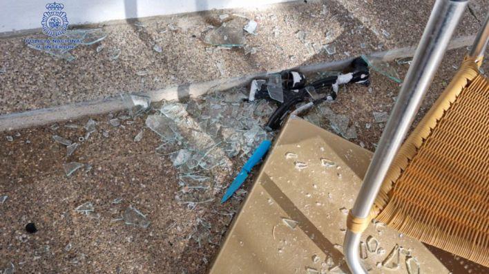 Cuatro detenidos, tres de ellos italianos, por una reyerta con cuchillos en Playa de Palma