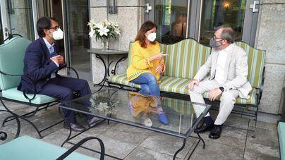 Armengol promociona en Alemania la imagen de Baleares como destino turístico seguro