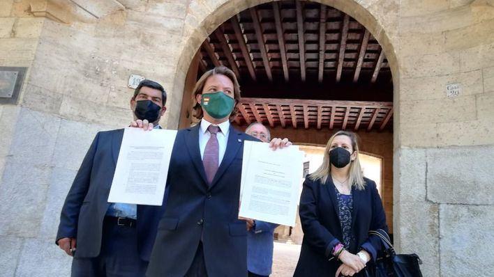 Vox presenta dos recursos ante el TSJIB contra el toque de queda y las restricciones del Govern