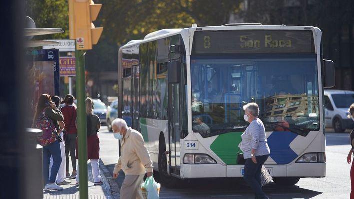 Los autobuses de Palma transportaron 1,9 millones de viajeros en marzo, un 42 por ciento menos que en 2019
