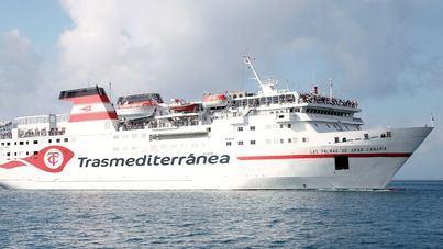 Armas Trasmediterránea amplia con una rotación la ruta entre Almería y Melilla