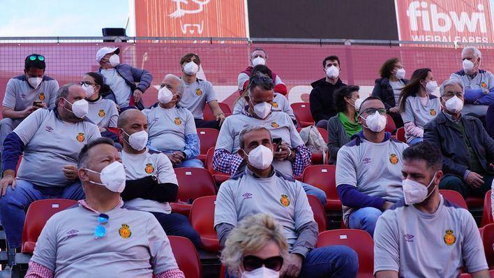 El público regresará a Son Moix en los partidos contra Alcorcón y Zaragoza