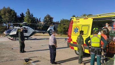 Rescatan a una anciana de 79 años tras caer por una ladera en una zona boscosa de Calvià