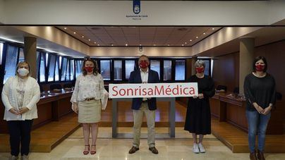 Calvià destina una subvención de 7.000 euros a la organización Sonrisa Médica