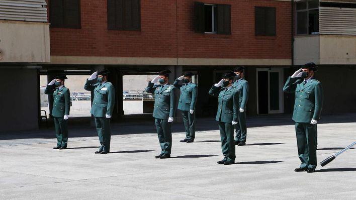 La Guardia Civil conmemora en la Comandancia de Palma el 177 aniversario de su fundación