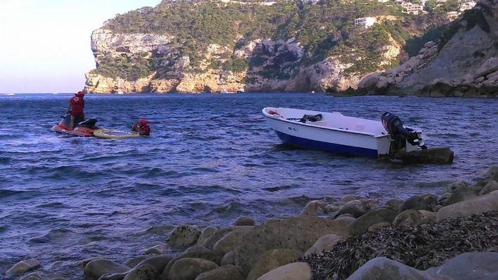 Interceptados cinco migrantes en una playa de Formentera