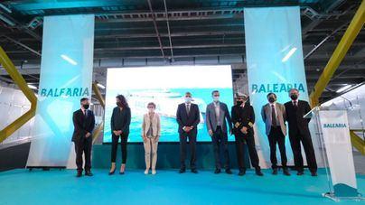Baleària presenta en Palma el fast ferry Eleanor Roosevelt, símbolo de innovación y ecoeficiencia