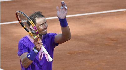 Nadal se toma la revancha ante Zverev y se mete en las semifinales de Roma