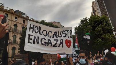 Concentración en Palma en apoyo del pueblo palestino