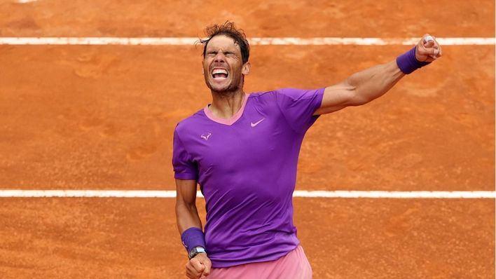 Nadal acaba con Djokovic y logra su décimo título en Roma