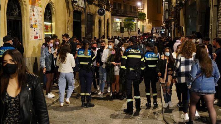 El ocio nocturno pide su reapertura 'urgente' tras otro fin de semana de botellones y fiestas ilegales