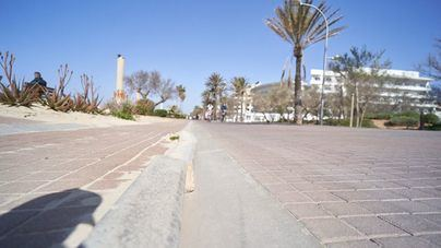 Empieza la renovación integral de la red de saneamiento en Playa de Palma