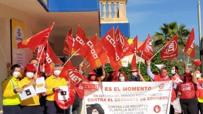 CCOO y UGT reivindican en Cala Millor el
