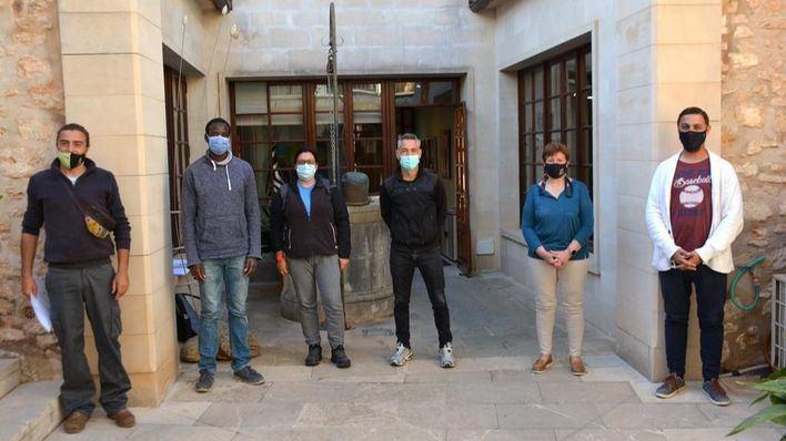 Santanyí incorpora cuatro trabajadores a través el programa SOIB Reactiva