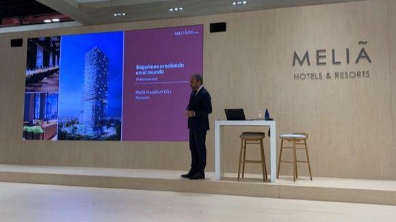 Meliá Hotels International muestra en Fitur su confianza para la recuperación e impulsa su expansión en 2021