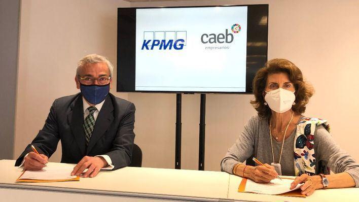 CAEB suma a KPMG como consultoría estratégica, financiera y de servicios globales a empresas