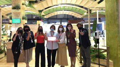 Baleares recibe los premios al mejor estand y al más sostenible de Fitur
