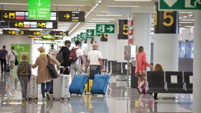 1.676 vuelos hasta el domingo en Baleares