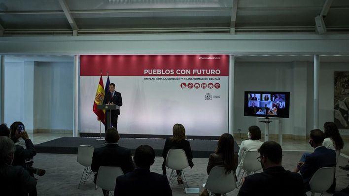 Sánchez aboga por afrontar la despoblación como 'un reto democrático'