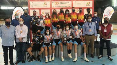 La selección balear triunfa en el Campeonato de España Madison 'Gran Premio Toni Cerdà'