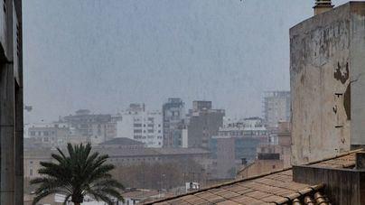 Precipitaciones acompañadas de barro en Baleares