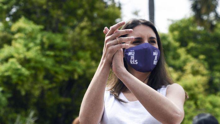 Irene Montero relaciona los últimos crímenes machistas con el final del estado de alarma