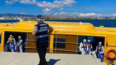 Cinco tripulantes de un crucero desembarcan de urgencia en Palma tras dar positivo en Covid