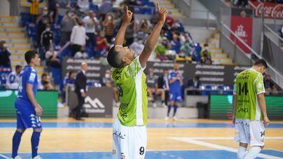 El Palma Futsal, líder provisional tras vencer por la mínima al Betis con un gol de Higor