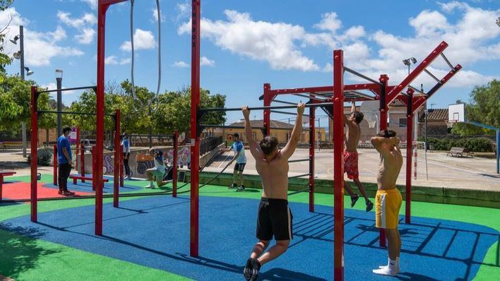Marratxí abre el nuevo parque de calistenia de Es Campet, en Sa Cabaneta