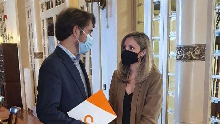 Pérez-Ribas retira la solicitud para relevar a Guasp como portavoz de Cs en el Parlament