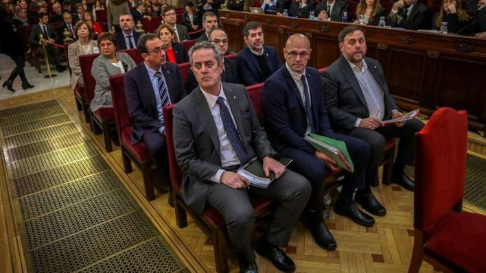 El Tribunal Supremo se opone a los indultos a los presos del 'Procés'