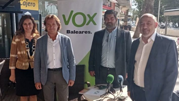 Campos asegura que Vox se ha consolidado como
