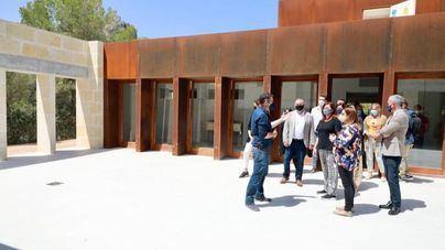 Avanzan las obras del futuro Museo Arqueológico del Puig de sa Morisca