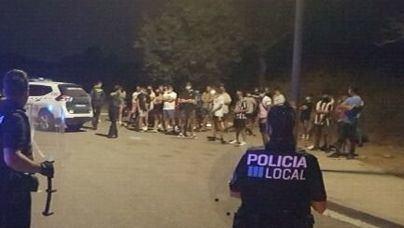 Abortan una fiesta en Ibiza con 15 personas