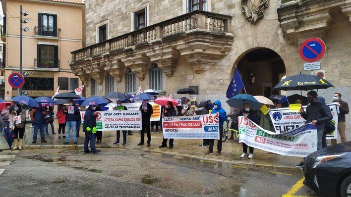 Nuevo acto de protesta en Palma contra el