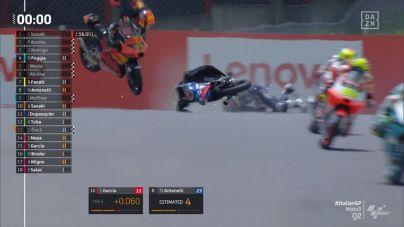 Fallece Jason Dupasquier tras una grave caída en el GP de Italia de Moto3