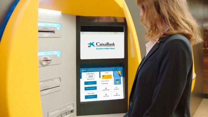 CaixaBank despliega una nueva plataforma tecnológica en sus cajeros